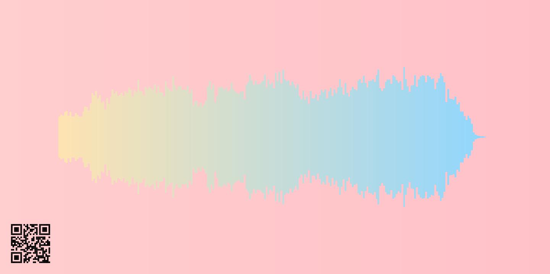 Example sound wave art 3